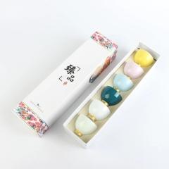 彩虹之恋描金陶瓷杯 会销一般送什么礼品