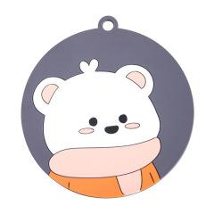 挂钩圆形防滑隔热餐垫 卡通可爱 活动小礼品