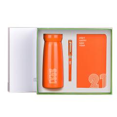 【勿一】保温杯商务礼盒套装 保温杯+笔记本+签字笔 商务会议礼品定制