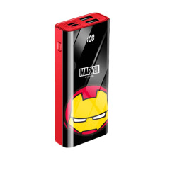 漫威移动电源 正版授权 玻璃镜面小巧轻薄便携快充10000mAh充电宝     特色创意礼品