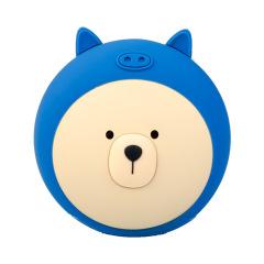 小萌熊暖手宝移动电源ins卡通萌宠暖宝宝 过年公司抽什么礼品