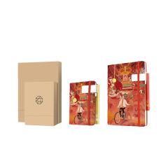 【老北京故事】創意三件套 筆記本+筆+書簽 旅游紀念獎品