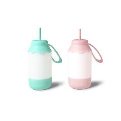 【浪漫奶瓶燈】doulex 創意無極調光奶瓶燈 浪漫USB充電小夜燈 創意中秋小禮品