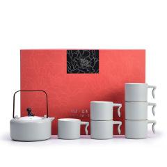 高档轻奢茶具礼盒 七件套装 公司周年活动伴手礼