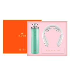 【勿一】女士商务礼盒套装 55°MINI口红杯+按摩仪 公司女神节礼品