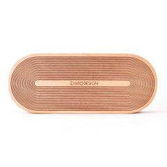 【德国IF设计奖】榉木款Music Wood原木音乐盒 木质发条八音盒 全封闭式整木 创意有质感的礼品