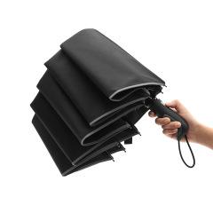 反光条折叠伞 10骨抗风自动伞 高端商务自动三折伞 商务活动礼品