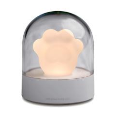 創意可愛貓爪音樂燈迷你USB小夜燈氛圍燈 創意小禮品大全