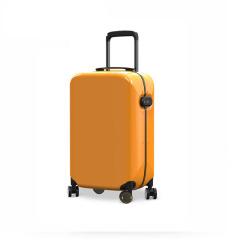 瑞典设计万向轮行李箱20寸时尚前沿男女指纹解锁旅行箱 登机箱新品拉杆箱 旅行礼品