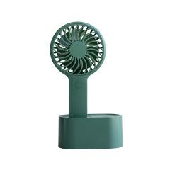 可摇头 桌面手持两用风扇 磁吸无线充电办公桌面风扇2000毫安 福利品定制