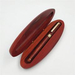 花梨木钢笔套装 商务红木钢笔 会议礼品