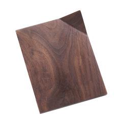实木创意折角杯垫 实用的推广伴手礼