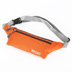 经典时尚设计超薄护外运动腰包 尼龙防水面料  公司运动比赛小奖品