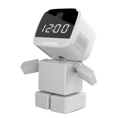 智能闹钟积木小子 智能无线360°旋转监控摄像机 中秋节送礼方案