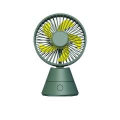 摩天轮桌面摇头风扇 充电式迷你小风扇 创意潮品