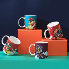 国潮马克杯陶瓷杯礼盒 创意潮流高颜值杯子 公司纪念品什么好