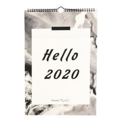 【Hello 2020】rosy rosy 2020原创月球挂历 实用礼品大全