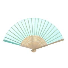 古典中国风竹制扇子 单面布扇 展会小礼品