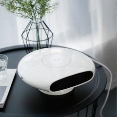 飞碟暖风机可立式可卧式迷你取暖器 定制礼品有哪些