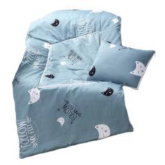 【小蓝猫】长方形两用抱枕被亲肤柔软磨毛面料 活性印染 优秀员工奖品推荐