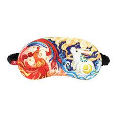 【逆转乾坤】创意真丝国潮风遮光冰袋眼罩 员工抽奖小礼品