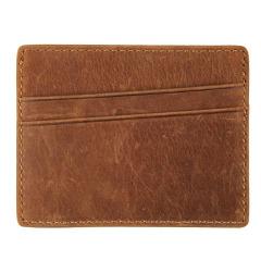 真皮便携卡片包零钱包 男生简便小卡包  防扫描屏幕卡包 商务礼品 送男士礼品定制