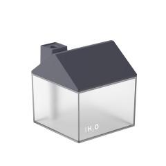 USB小房子加湿器 家用小夜灯办公车载两用加湿机 趣味礼品