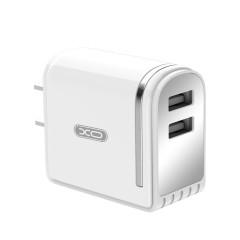 双USB数显充电头 带数字LED灯显示通用充电头
