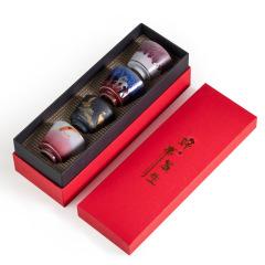 【好事发生】陶瓷功夫茶具茶杯 简约风茶杯 送客户礼品什么好