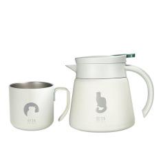 『夜愿』时尚轻商务套装 保温壶+杯子 公司活动创意奖品