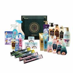 LG健康生活 韩国进口24件套 日用品礼盒 银行客户礼品赠送方案