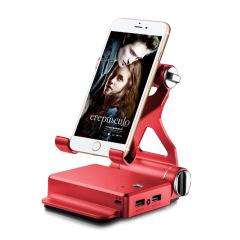 蓝牙音响手机支架10400毫安三合一充电宝       logo定制礼品