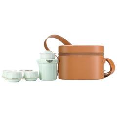 菲驰(VENES)青瓷出行茶具套装快客杯品茗杯套装 实用年会奖品