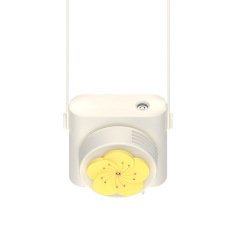 迷你加湿器小风扇 可爱便携式喷雾挂脖风扇 网红礼物