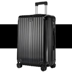 镜面拉链款20寸登机箱 金属包角硬质旅行箱 商务活动礼品