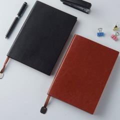 商务软皮笔记本 A5/A6/B5多规格皮面记事本 本册定制