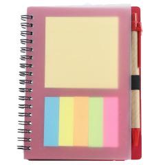 创意便利贴笔记本PP线圈本 商务广告笔记本定制