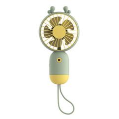 萌趣手持风扇 卡通立体便携小风扇 USB解暑小风扇 创意随手礼