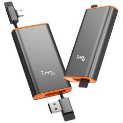 幻响(i-mu)3.1A快充三合一数据线 金属抽拉便携收纳抽拉充电线 科技小礼品