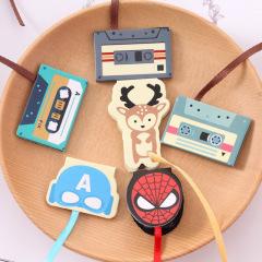 可爱卡通动物磁铁书签 磁性迷你书签丝带 创意小礼品