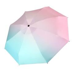全自动三折晴雨伞 小巧便捷简约折叠伞 员工活动礼品