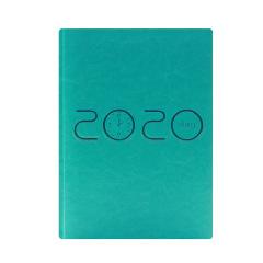 2020年彩色烫金日程本时间管理效率手册 12个月日计划本皮面商务 商务定制送什么