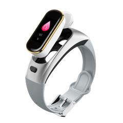 二合一检测运动智能耳机手环  蓝牙5.0血压心率接听电话运动手环创意礼品定制 企业礼品
