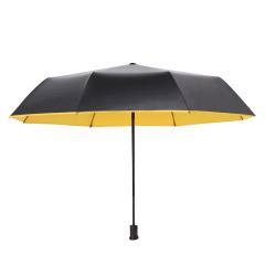 三折黑膠傘 晴雨兩用傘 促銷小禮品