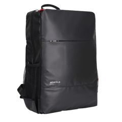 维仕蓝(wissBlue)时尚黑色商务背包    过年给员工送什么