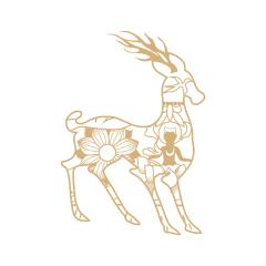 【敦煌研究院】九色鹿小夜灯 博物馆激光雕刻LED夜灯 创意文创礼品