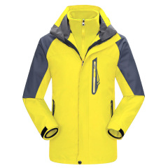 户外三合一冲锋衣 男女款抓绒两件套冲锋衣 秋冬工作服定做