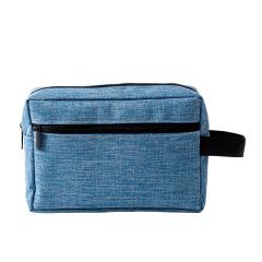 舞龙布防水化妆包 多功能加宽提手洗漱包 大容量旅行收纳包 展会礼品定制
