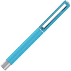 得力(deli)0.5mm子弹头炫彩金属中性笔(笔壳蓝色) 办公商务礼品