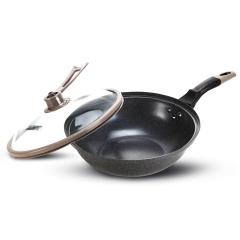 德国NOLTE  麦饭石低压不粘锅 节能省时焖烧锅具 职工活动礼品